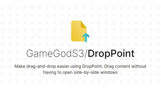 DropPoint est un logiciel gratuit qui facilite le glisser-déposer