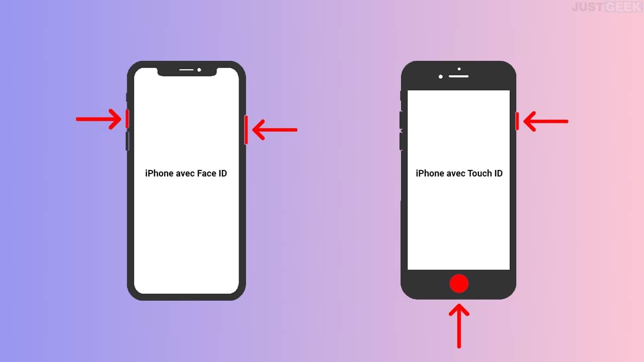 Capture écran iPhone