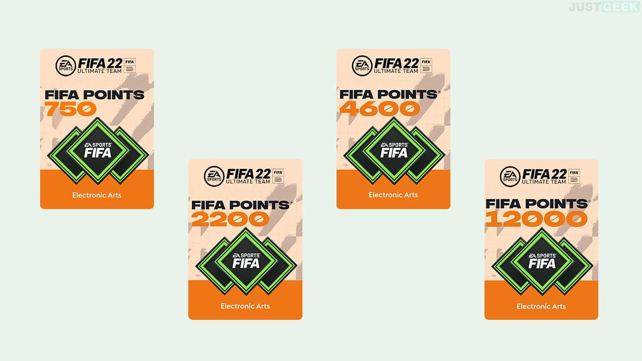 FIFA 22 Points FUT pas cher