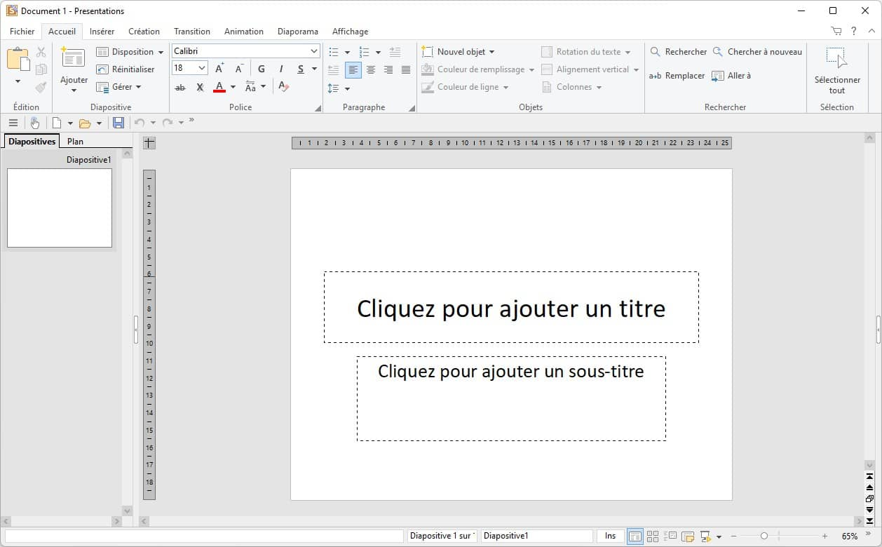 FreeOffice Presentations