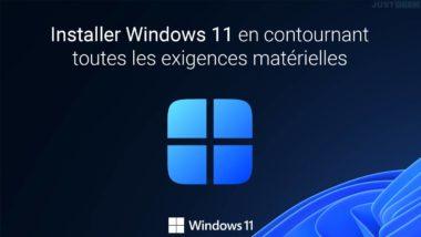 Installer Windows 11 sur votre PC sans TPM 2.0 ni Secureboot
