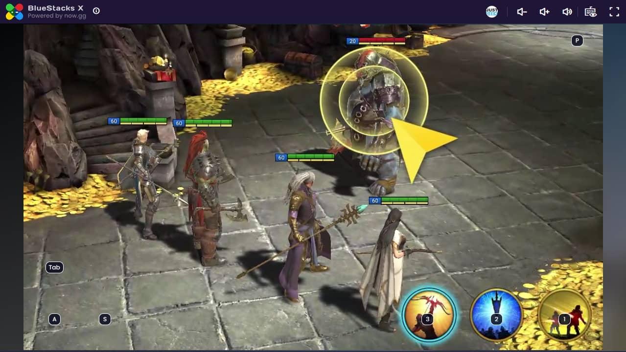 RAID : Shadow Legends Cloud Gaming BlueStacks X
