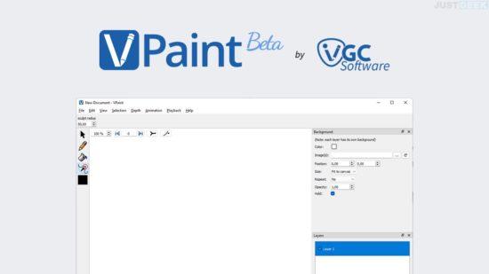VPaint : logiciel de dessin vectoriel gratuit